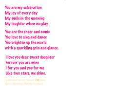 Mother+Daughter+Relationship+Poem | love poem poetry for daughters from their mothers motherhood and ...