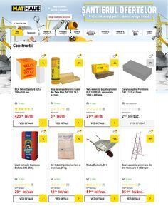 Catalog MatHaus Santierul Ofertelor 2021 - Catalog AZ Helsinki, Catalog, Aqua, Beast, Water, Brochures