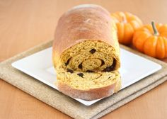 Pumpkin Cinnamon Swirl Bread! can this be any more autumn-y?