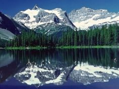 landscapes mountains nature water lake trees forest (to get full size image visit the site)