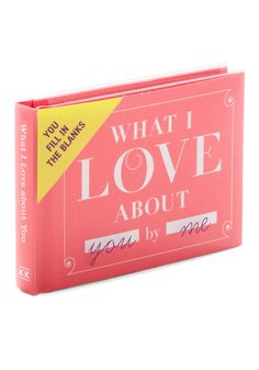 What I Love About You Journal | Mod Retro Vintage Books | ModCloth.com