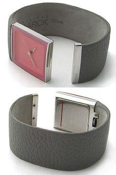 Phillipe Starck cuff watch