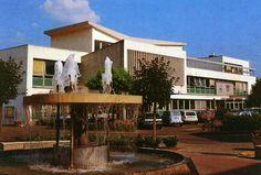 Audincourt, agglomération de Sochaux/Montbéliard (Doubs), le centre administratif.