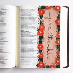 """Ps. 75:1 """"We give thanks to You, God; we give thanks to You, for Your name is near. People tell about Your wonderful works."""" #illustratedfaith #biblejournaling #artjournaling #scripture #art #faith #biblejournalingcommunity #shepaintstruth #hpickeringbiblejournaling"""