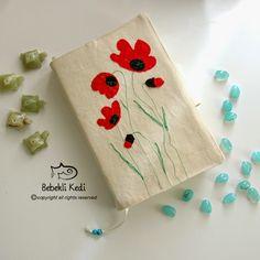 El yapımı kitap kılıfı / handmade bookcase