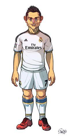 Ilustraciones de futbolistas a cargo de Sakiroo Choi