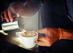 Abel Alameda at Handsome Coffee Roasters, Downtown Los Angeles, via Flickr.