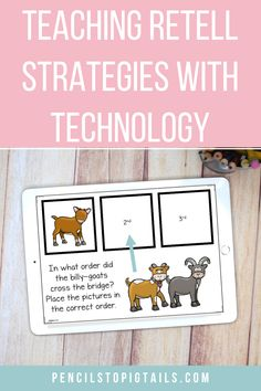 I never realized how you could teach fairy tale strategies using technology! Use Boom Cards or Google™ Classroom to teach essential reading standards through fairy tales! #fairytales #googleclassroom #kindergarten