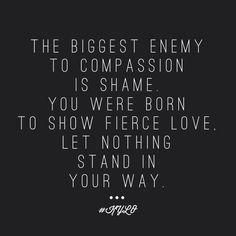 His fierce love conquers all!