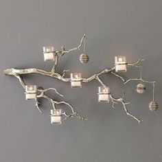 Tree Branch Candle Holder Tree Branch Decor Glass Votive Candle Holder Manzanita Tree Candle Holder Rustic Tree Branch Wall Candle Holder - Everything About Christmas Tree Branch Centerpieces, Tree Branch Decor, Manzanita Branches, Tree Branches, Branches Wedding, Tree Wedding, Manzanita Centerpiece, Lighted Branches, Branch Art