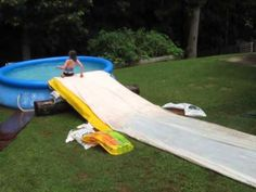 How To Make The Ultimate DIY Slip 'n Slide | Outdoor | Great Home Ideas - YouTube