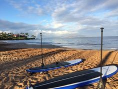 Spend the day paddle boarding at the Grand Wailea.