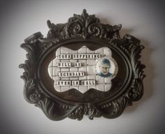 Hellraiser framed plaque by AlternativeJewellery on Etsy