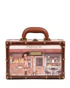 Nicole Lee Vintage Briefcase  BriefcaseBags #Backpacks