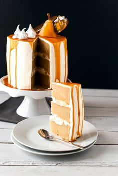 Lilie Bakery | Layer Cake Poire Caramel