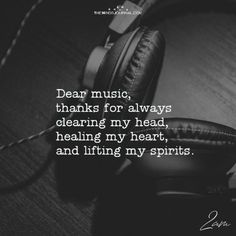 Dear Music, Thanks For Always Clearing My Head – themindsjournal.c… Dear Music, Thanks For Always Clearing My Head – themindsjournal. Papa Roach, Music Lyrics, Music Songs, Quotes For Music, Good Music, My Music, Music Is My Escape, Music Guitar, Garth Brooks