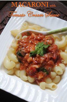 #AD YUMMY TUMMY: Pasta with Tomato Cream Sauce Recipe - Creamy Tomato Pasta Recipe #HibernationSeason  Recipe: http://www.yummytummyaarthi.com/2016/02/pasta-with-tomato-cream-sauce-recipe_25.html