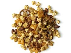 Get Chili-Garlic Snack Mix Recipe from Food Network