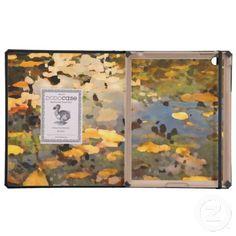 Floating Autumn Leaves iPad Folio Cases