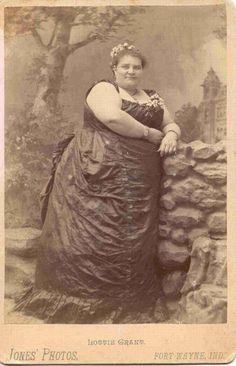 Victorian fat woman