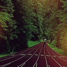 I want to run on the Nike track someday