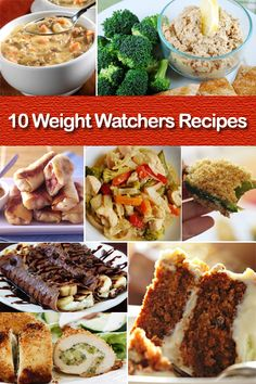 10 Weight Watchers Recipes http://skinnynotskinny.com/10-weight-watchers-recipes-get-back-track/