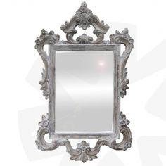 Spiegel Nice grijs bewerkt ca.50x70