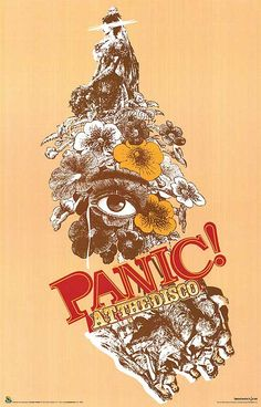 Panic! At the Disco I wonder if I still have this poster somewhere :)