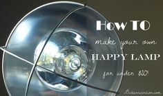 Is it dark where you live most of the year? Then you might want to make your own happy light for under $20!