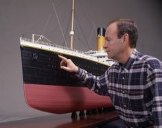 Titanic in miniature A model of the legendary ship, The Titanic, was built in England. The model ship is 48 smaller than the original. The model is available for 1.3 million pounds sterling. It took designers seven years to build the model. The miniature ship is 11 meters long  All photos: Splash/All Over Press titanic