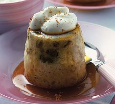 Banana-maple towers, a low calorie dessert.