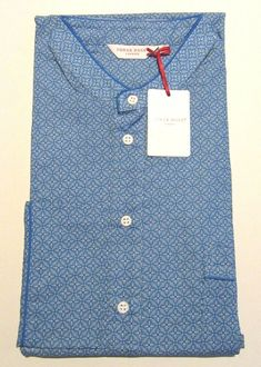 ff3a2fc05a DEREK ROSE MENS NIGHTSHIRT - MEDIUM - 100% COTTON - RRP. 135 - NEW LEDBURY  21  fashion  clothing  shoes  accessories  mensclothing  sleepwearrobes  (ebay ...