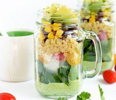 Mason Jar Quinoa Salad