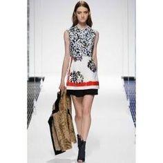 Olivia Palermo wearing Christian Dior Cruise 2015 Dress