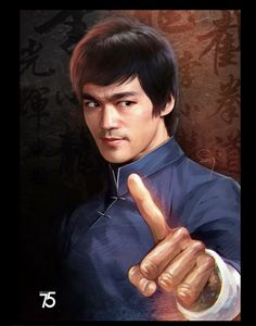 Bruce Lee art Bruce Lee Art, Bruce Lee Martial Arts, Bruce Lee Quotes, Brandon Lee, Eminem, Bruce Lee Pictures, Bruce Lee Family, Brothers Movie, Kung Fu Movies