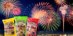 Southern Recipe loves the Fourth of July! There's nothing like gathering with friends, family and neighbors to celebrate our independence. The red, white and blue BBQ is as serious to us as George Washington crossing the Delaware.  When your get-together gets going, make sure your flavors are spot on. Let's talk pork rinds and which to feed your hungry firework-loving crowd.