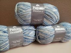 Patons Denim-y Yarn - Get the look of denim without the weight with the new Denim-y Yarn from Patons. Enter to win 3 skeins of Patons Denim-y Yarn. The deadline to enter is September 10th, 2014 at 11:59:59 p.m. Eastern Time.