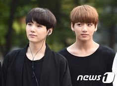 Suga and Jungkook ❤ BTS Arrival at KBS Music Bank (Comeback stage today) #BTS #방탄소년단