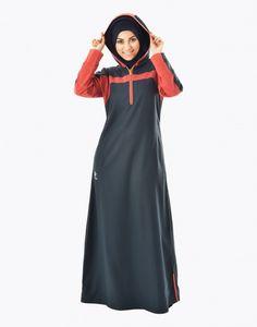 Go Go Majolica Abaya Fashion, Muslim Fashion, Hijab Outfit, Muslim Women, Sport Fashion, Abayas, Fashion Beauty, Hijabs, How To Wear