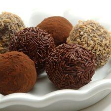 Deluxe Chocolate Truffles: King Arthur Flour