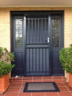 australia front door security grill - Google Search