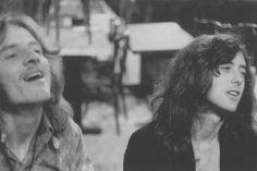 John Paul Jones and Jimmy page ~ love it
