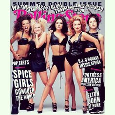 """Spice Girls shot by Mark Seliger for Rolling Stone magazine in New York 18 years ago today on May 16th, 1997 for the July Summer Issue! ✌️…"""