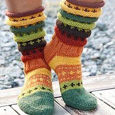 Wool Socks, Knitting Socks, Baby Knitting, Knitting Projects, Knitting Patterns, Norwegian Knitting, Leg Warmers, Knit Crochet, Underwear
