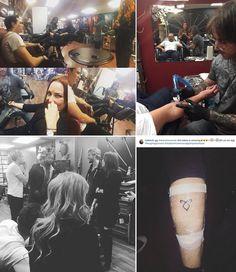 Tatuaże, które zrobiło sobie kilku członków obsady.