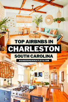 Are you looking for fabulous places to stay in Charleston, South Carolina? Here are the 12 Top Airbnbs in Charleston + the top things to do in Charleston during your South Carolina vacation! I where to stay in Charleston I accommodation in Charleston I Charleston accommodation I Airbnbs in South Carolina I accommodation in South Carolina I where to stay in South Carolina I South Carolina Airbnbs I USA travel I things to do in South Carolina I #SouthCarolina #USA #Charleston