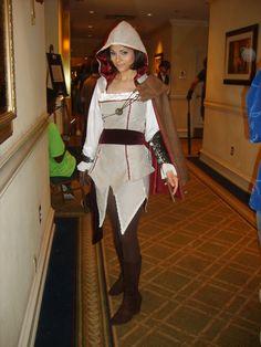 Assassin's Creed - Ezio Auditore da Firenze walking down the hall Cosplay Costume