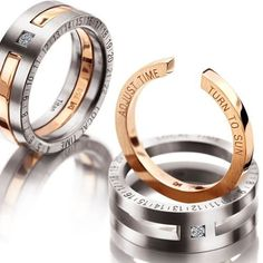 The 5 Most Awesome Men's Wedding Rings I might actually get my hubby to wear one of these rings!