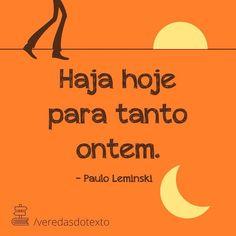 Poema de Paulo Leminski