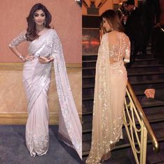 Shilpa Shetty Kundra is the most stylish lady of Bollywood. She is blessed with a perfect figure which makes her every designer's first choice. Shilpa ups Shilpa Shetty Yoga, Anita Dongre, Indian Designer Outfits, Designer Dresses, Designer Sarees, Indian Dresses, Indian Outfits, Indian Clothes, Sari Bluse